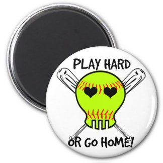 Play Hard or Go Home! Magnets
