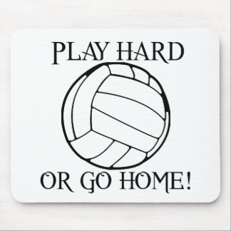 Play Hard or Go Home! Mousepads