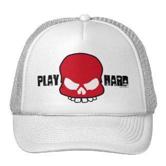 Play Hard - red Trucker Hat