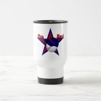 Play Hard Softball Travel Mug