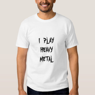 """Play Heavy Metal"" Sousaphone/Tuba T-shirt"