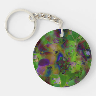 Play In Paint Keychain