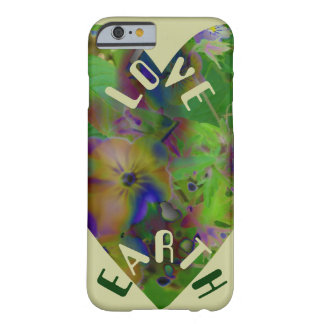 Play In Paint LOVE EARTH Barely There iPhone 6 Case