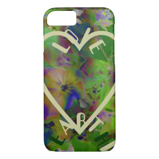 Play In Paint LOVE EARTH iPhone 7 Case