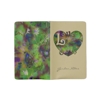 Play in Paint LOVE EARTH Personalized Large Moleskine Notebook