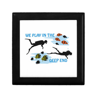 Play In The Deep End Jewelry Box