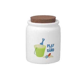 Play In The Sand Candy Dish