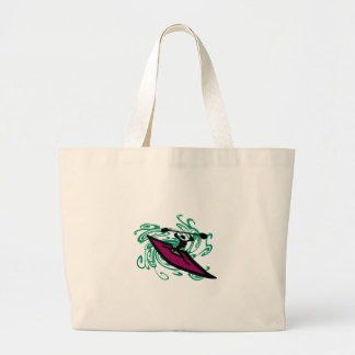 PLAY IN WATER LARGE TOTE BAG