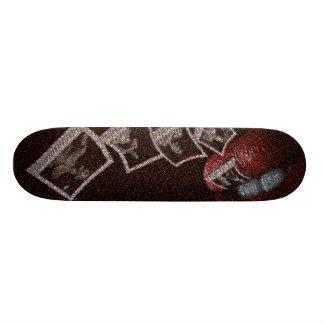 Play It Again Rocky Skateboard. Skateboard Deck