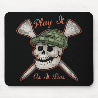 Play It As It Lies Mouse Pads