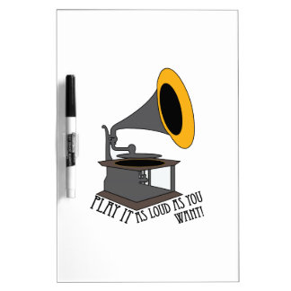 Play It Loud Dry-Erase Whiteboards