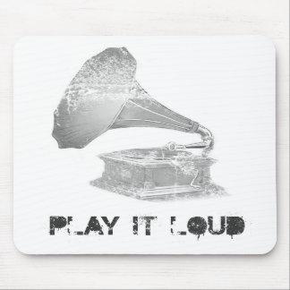 Play it Loud Mouse Mat