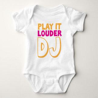 PLAY it LOUDER DJ! Baby Bodysuit