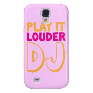 PLAY it LOUDER DJ! Galaxy S4 Case