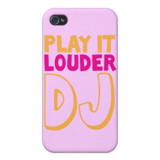 PLAY it LOUDER DJ! iPhone 4/4S Case