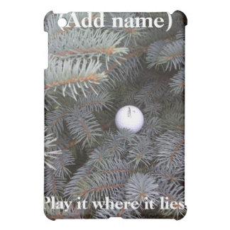 Play it where it lies iPad Case