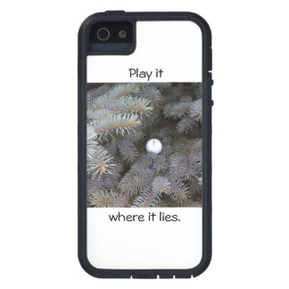 Play it where it lies iphone case iPhone 5 covers
