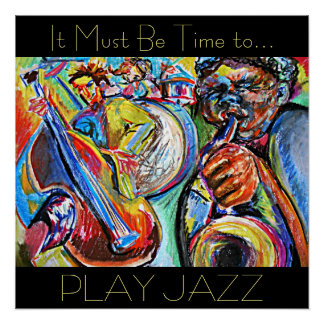 Play Jazz Poster