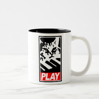 Play Keyboard Cat Mug