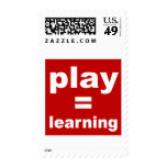 Play=Learning Postage