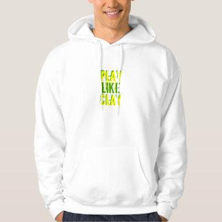Play Like Clay Hooded Sweatshirt