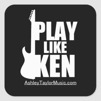 PLAY LIKE KEN Sticker