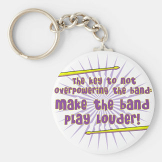 Play Louder Keychain