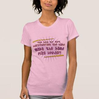 Play Louder Ladies T-Shirt
