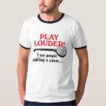 Play Louder Men's Ringer T-Shirt