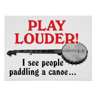 Play Louder Poster