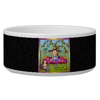 Play Make Believe Pixel Art Bowl