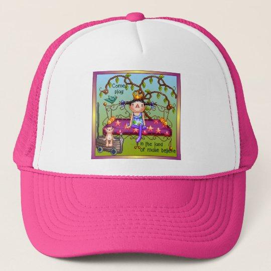 Play Make Believe Pixel Art Trucker Hat