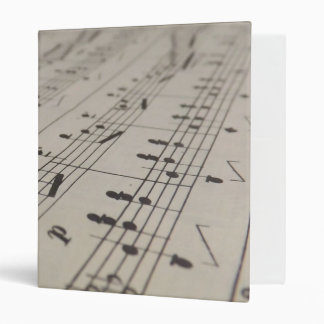 Play Me A Song 3 Ring Binder