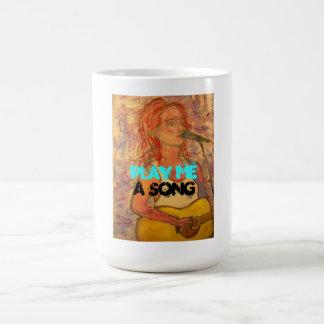 play me a song coffee mug