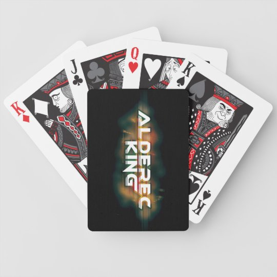 Play me Alderec King Bicycle Playing Cards