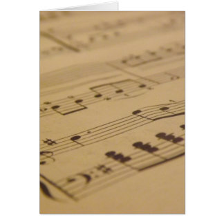 Play Me Another Song Greeting Card