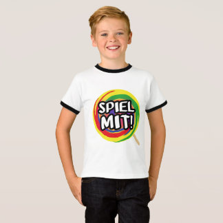 Play me me children T-shirt boy with edge