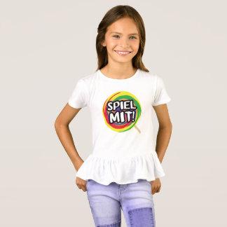 Play me me logo frill shirt! T-Shirt