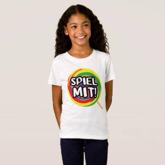 Play me me logo T-shirt girl