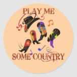 PLAY ME SOME COUNTRY STICKERS