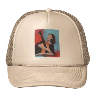 Play Me (The Girl with the Guitar) Trucker Hat