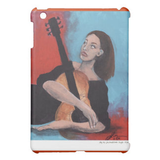 Play Me (The Girl with the Guitar) iPad Mini Cases