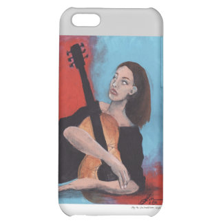 Play Me (The Girl with the Guitar) iPhone 5C Covers