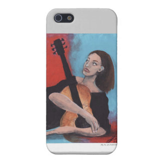 Play Me (The Girl with the Guitar) iPhone SE/5/5s Case