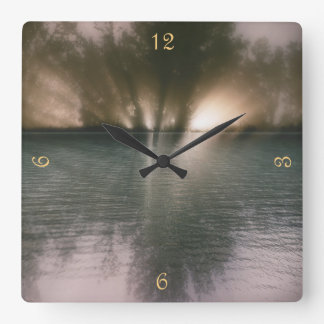 Play Misty for Me Square Wall Clock