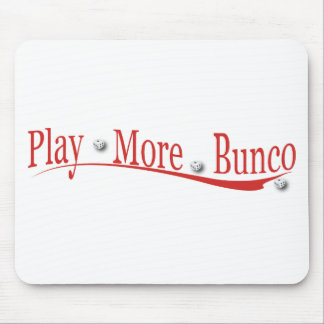 Play More Bunco Mouse Pad