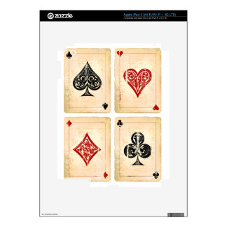 Play More Cards Day - Appreciation Day iPad 3 Decal