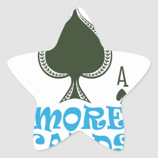 Play More Cards Day - Appreciation Day Star Sticker