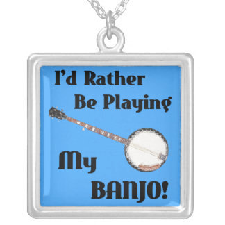 Play My Banjo Necklace