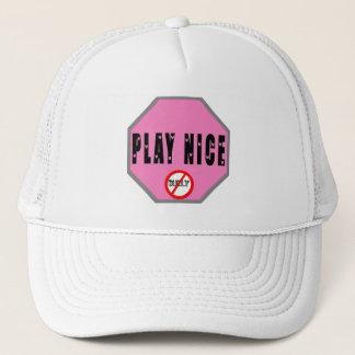 Play Nice - Pink Shirt Day Trucker Hat